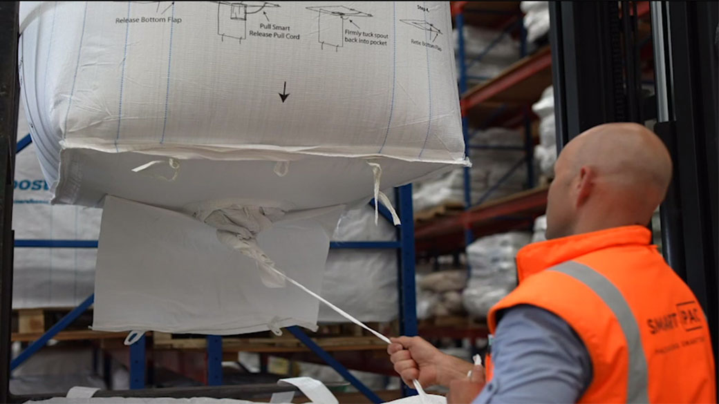 smart release™ bulk bag
