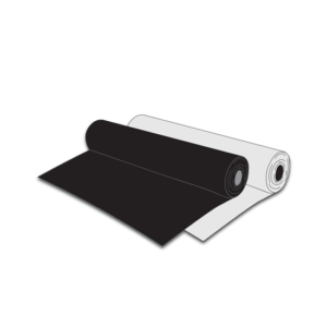 natural/clear and black polythene rolls