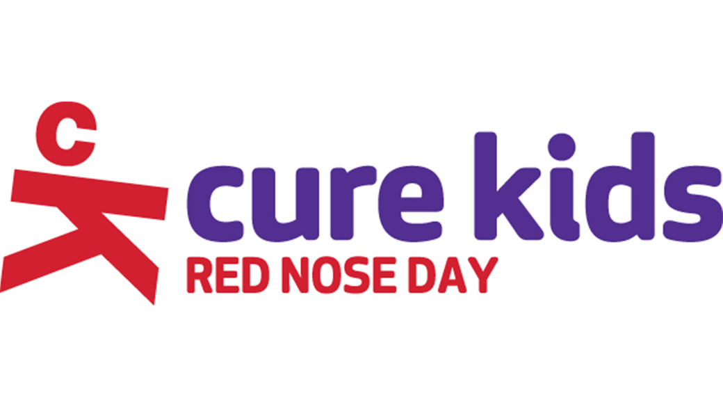 cure kids red nose day logo