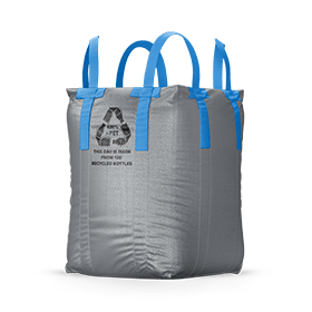 bulk bag made from recycled pet